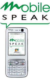 Mobile Speak logo