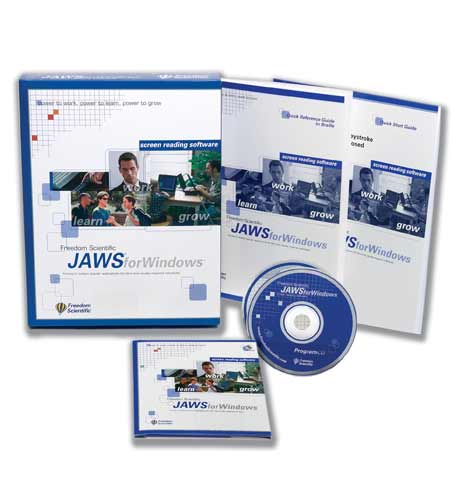 Image of JAWS for Windows - Box and CD
